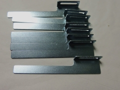 Sheet metal parts for machine