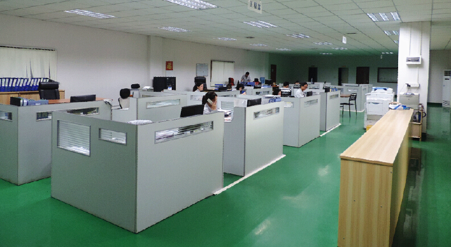 Goldstar machining sales office located in industrial town of Dongguan City China